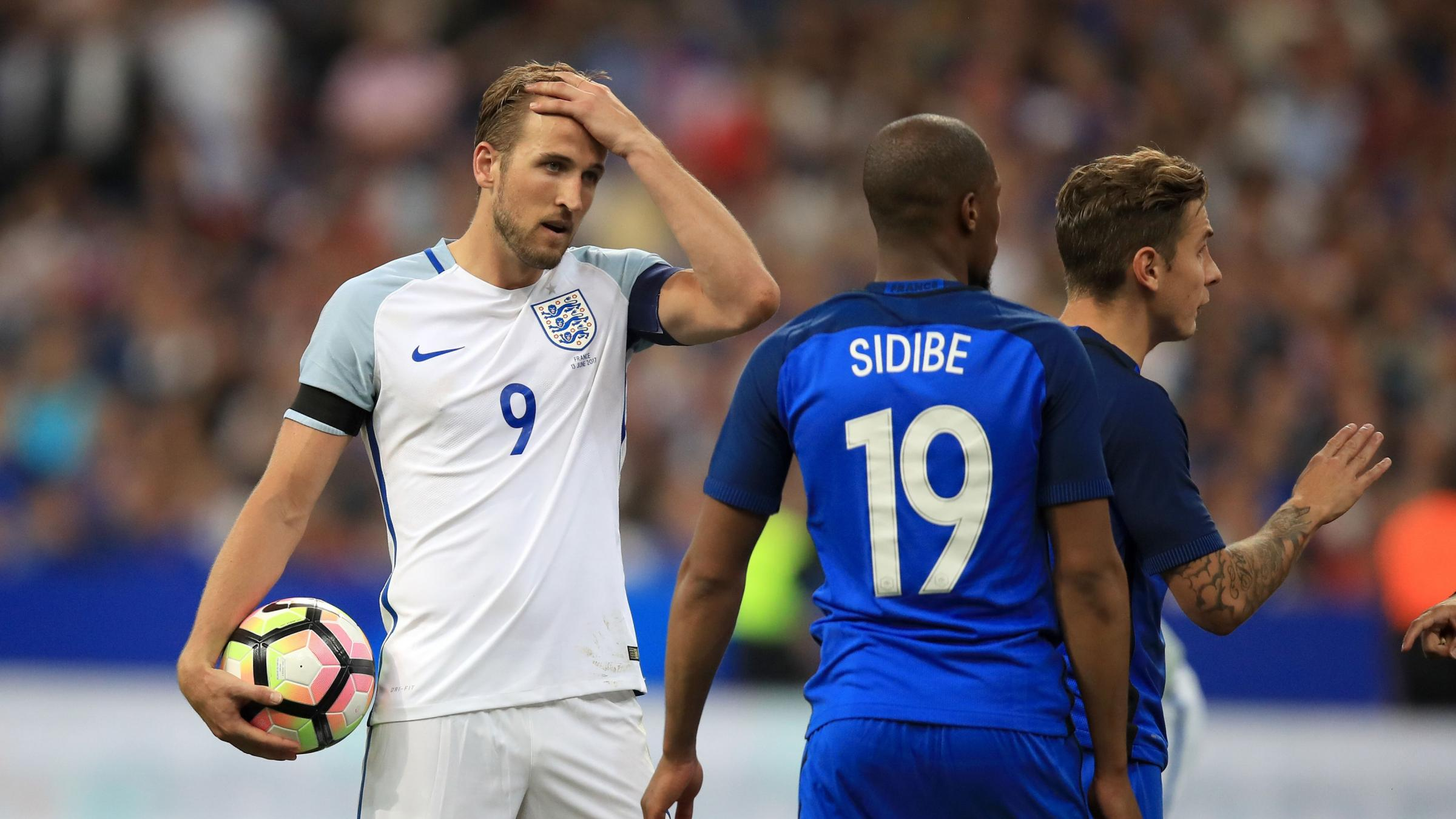 Tottenham star Harry Kane remains England captain for France friendly