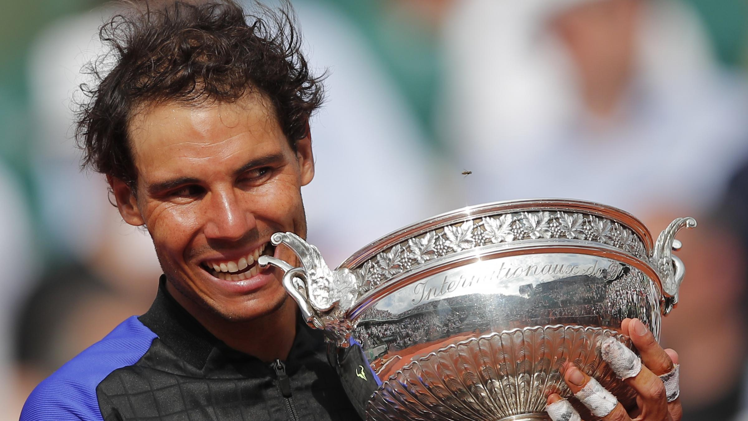 Buoyed by French Open win, Nadal eyes Wimby