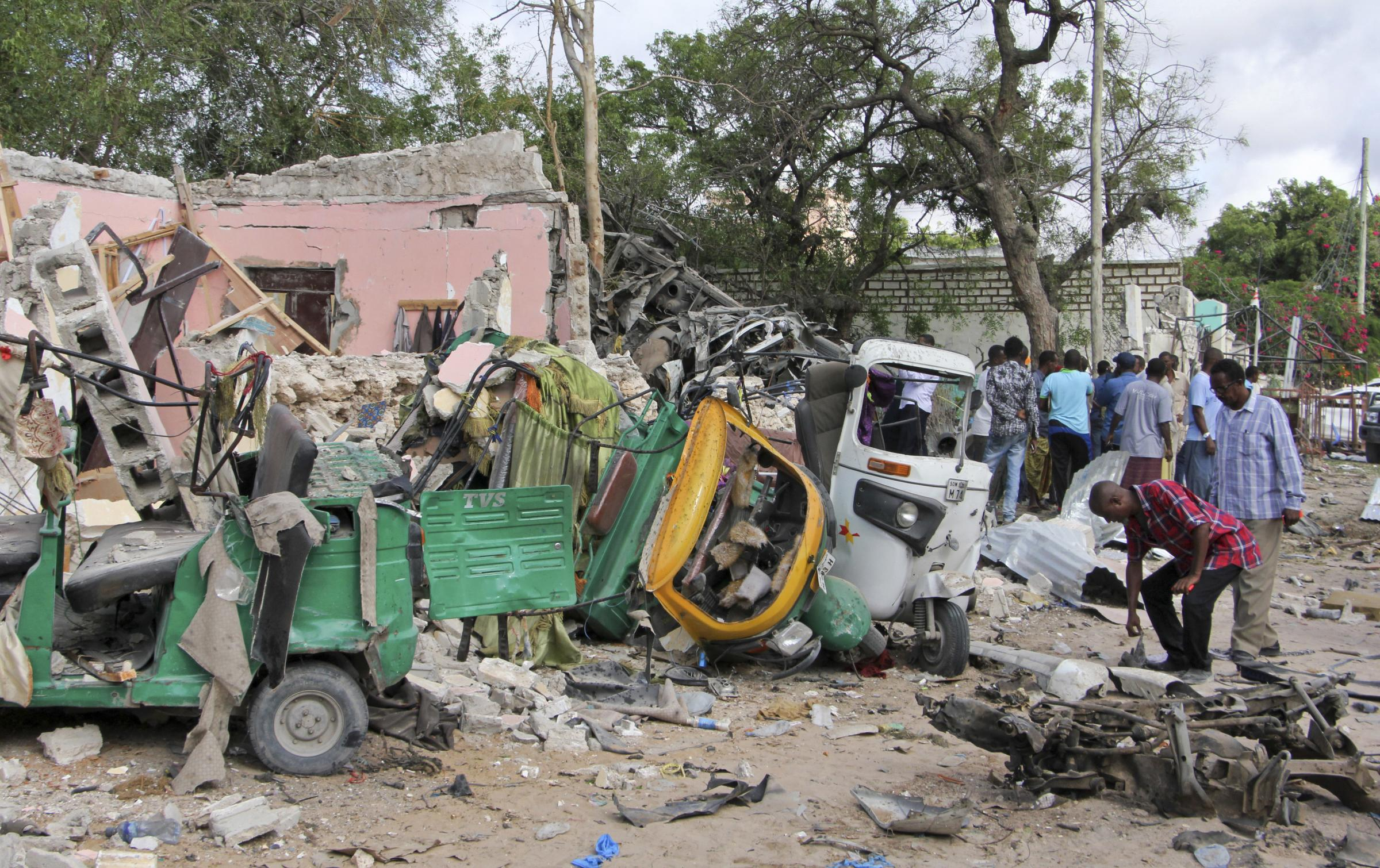 SRSG Keating condemns attack on popular Mogadishu restaurant and hotel